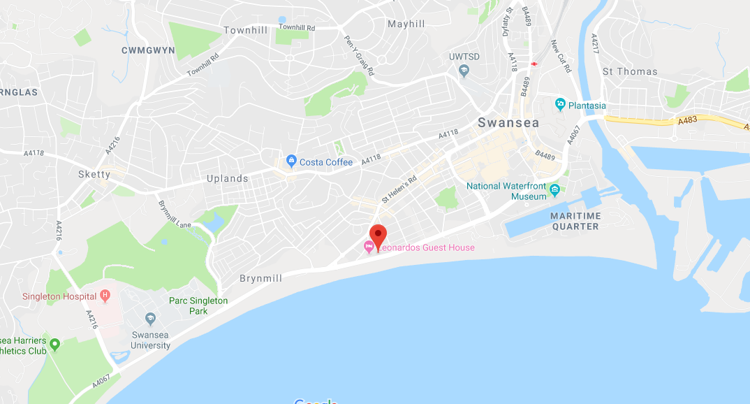 B&B Swansea | Affordable Bed & Breakfast Swansea City Centre