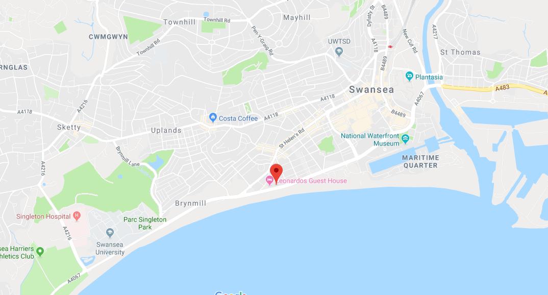 B&B Swansea | Affordable Bed & Breakfast Swansea City Centre